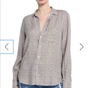 Frank & Eileen  Floral Button-Down Shirt, S